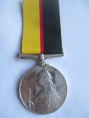 Queen's Sudan Medal. 1896-98. FRASER. 1/CAMERON HIGHLANDERS. 100% Authentic