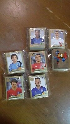 Figurine Panini world cup Russia 2018 complete set  GOLD EDITION SWISS stickers