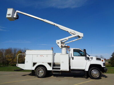 04 42' Bucket Truck Boom Basket Lift Aerial Utility Service Under CDL AC