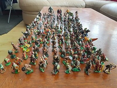 Job Lot - 183 Games Workshop, Warhammer, Ral Partha and Citadel lead figures