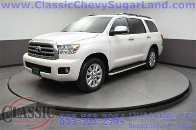 2016 Sequoia Platinum 2016 Toyota Sequoia, Blizzard Pearl with 68,346 Miles available now!
