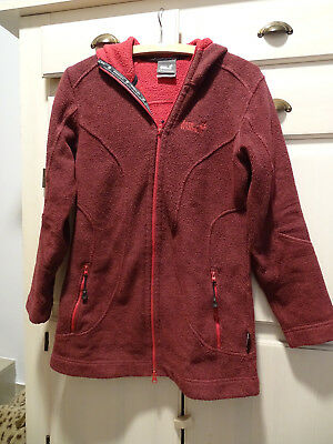 JACK WOLFSKIN DAMEN Fleece Jacke Pullover Outdoor Moonrise