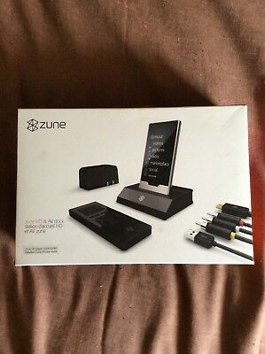 New Genuine Microsoft G7D-00001 Zune HD AV Dock for Zune Mp3 Player