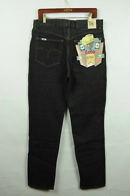 Vintage DEADSTOCK 80s Lois 34x34 Denim Jeans made in Italy