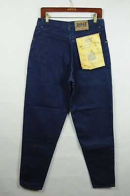 Vintage DEADSTOCK 80s Rifle 32x32  Denim Jeans made in Italy