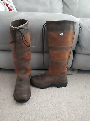 Dublin Leather River Boots Size 7