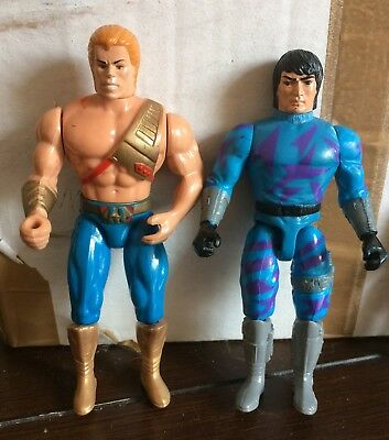"""2x Masters of the Universe """"New Adventures"""", He Man"""