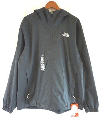 NWT The North Face Men's Black Quest Hooded Jacket XL