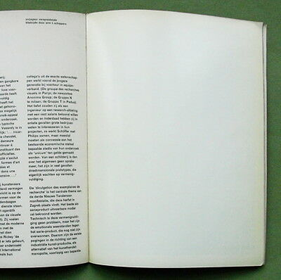 Wim T. Schippers, 1965: page w. scent of anise (Fluxus multiple) + VASARELY