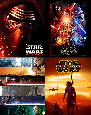 Magnetic cover art for Star wars VII The Force Awaken steelbook Bluray En-Es-FR