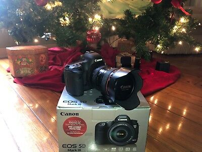 Canon EOS 5D Mark III 22.3MP Digital SLR Camera - Black (with EF L IS USM...
