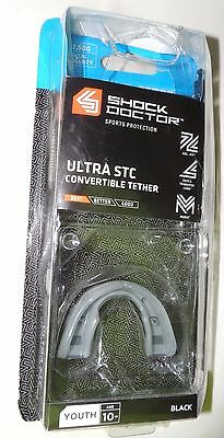 Shock doctor Ultra STC Convertible Tether Mouthguard Youth 10-