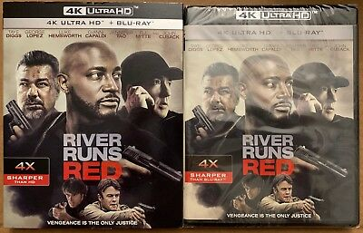 New River Runs Red 4K Ultra Hd Blu Ray 2 Disc Set + Slipcover Sleeve Free Shipin