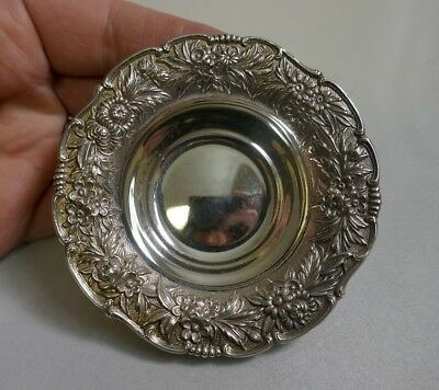 S. Kirk & Son Sterling Silver Nut Dish In Repousse Pattern - Model Number 400