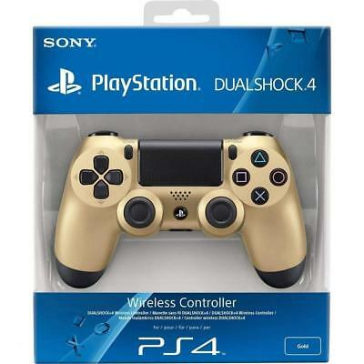 Official Sony PlayStation DualShock 4 V2 Gold PS4 Controller NEW SEALED