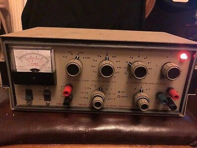 Heathkit Sine-Square Audio Generator IG-18. Equipment Tester