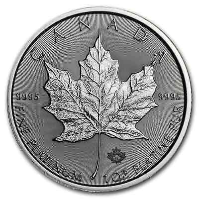 2019 Canada 1 oz Platinum Maple Leaf BU - SKU#181607