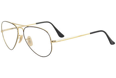 c042883d12 Ray Ban Eyeglasses RB6489 RX 6489 2946 Black Gold RayBan Optical Frame 55mm