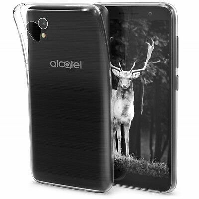 New Thin Slim Clear Transparent Silicone Gel TPU Case Cover For Alcatel 1 5033X