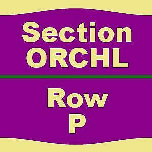 1-4 TICKETS 3/16/19 Cats Pantages Theatre - CA