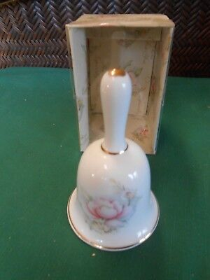 Collectible Bell SUMMIT COLLECTION Bone China Bell.....FREE POSTAGE USA