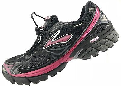 f08c9c7383f Brooks Ghost 4- Neutral Road Running Black Training Athletic Sneakers Womens  9 B