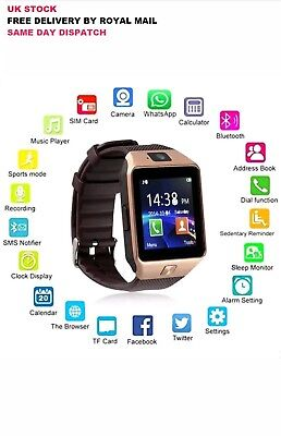 DZ09 Smart Watch Phone Bluetooth Pedometer Apple & Android Compatible GT08 2018