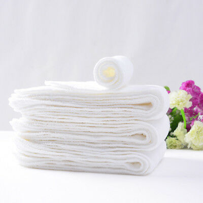 Washable Reusable Baby Cloth Diaper Nappy Liners Insert 3 Layers Cotton Hot Sale