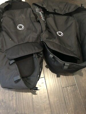bugaboo donkey Bassinet- Black 2 Included For Twins