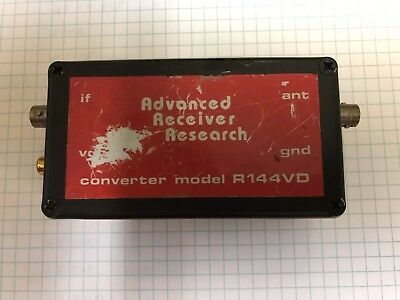 Advanced Receiver Research R144VD 2 Meter To 10 Meter Converter