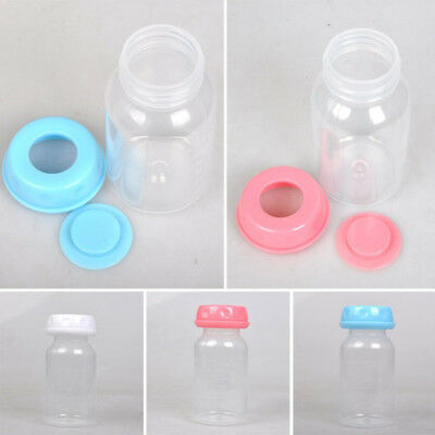 125ML Breastfeeding Breast Milk Collection BPA Free Storage Bottle With Lid