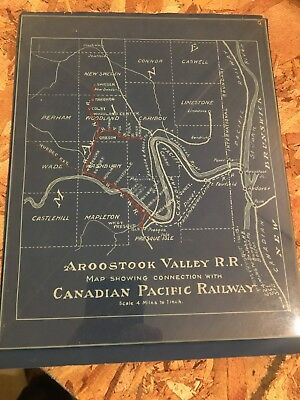 Aroostook Valley Railroad - Track Map and Right of Way Plan, Canadian Pacific