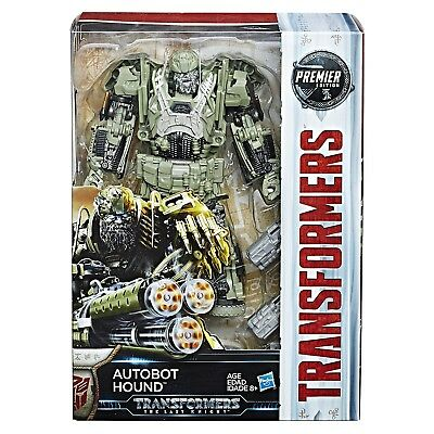 Transformers The Last Knight Premier Edition Voyager Autobot Hound - Brand New