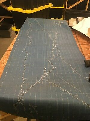 Aroostook Valley Railroad - Track Map and Right of Way Plan