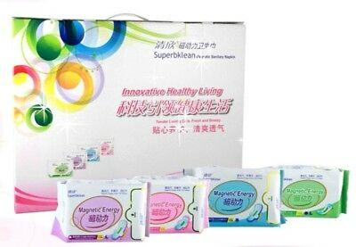 Longrich Magnetic Sanitary Napkin (Mixed Box) -  19-Pack Box Offer!