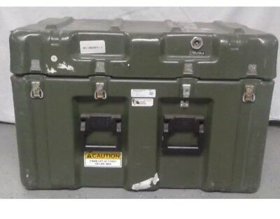 Pelican Hardigg Military Transport Storage Tool Case and Box 32 x 20 x 20