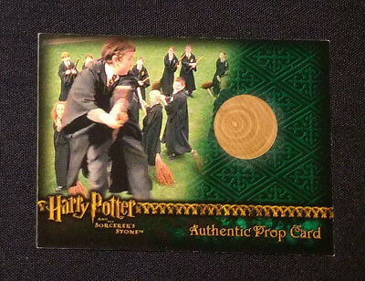 2005 ArtBox Harry Potter Sorcerer's Stone Practice Broom Prop Card