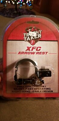 Trophy Taker XFC Drop Away Arrow rest Right Hand Black Cable Driven