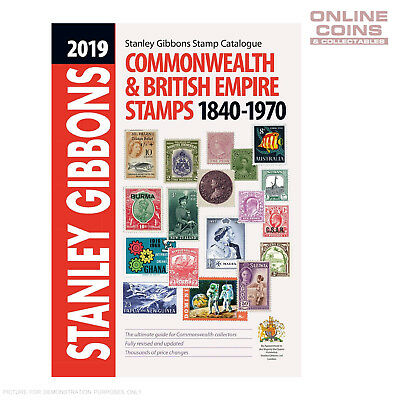 2019 Stanley Gibbons Commonwealth & British Empire Stamp Catalogue 1840-1970