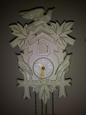 Original Hubert Herr Black Forest Cuckoo Clock Made In Germany