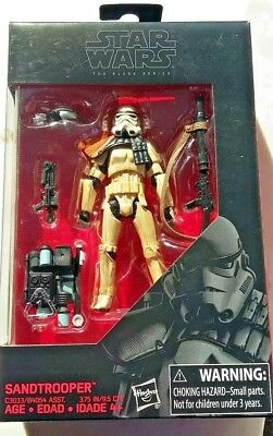 SANDTROOPER STAR WARS THE BLACK SERIES 3.75 INCH ACTION FIGURE Hasbro C3033