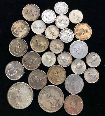 1907 to 1945 10c, 20c, & 50c US-Philippines  Silver Coins 27 pcs - lot#2