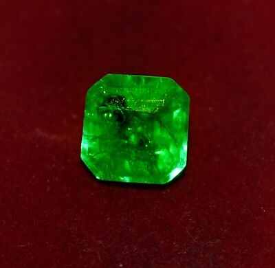 GGL Certified 9.25 Cts Beautiful Natural Green Emerald, Emerald Shape Gemstone