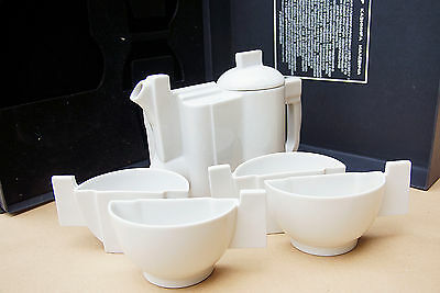 Kasimir Malevich Tea Set. Replica by Imperial Porcelain St.Petersburg.