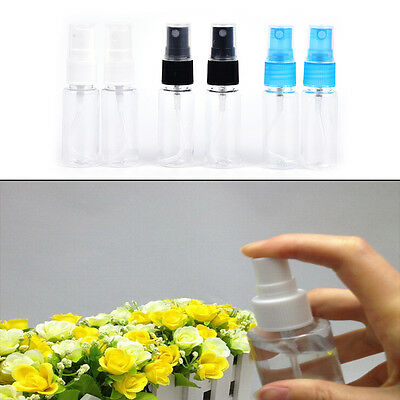 "2Pcs 20ML Mini Small Empty Plastic Perfume Transparent Atomizer Spray Bottles""#"