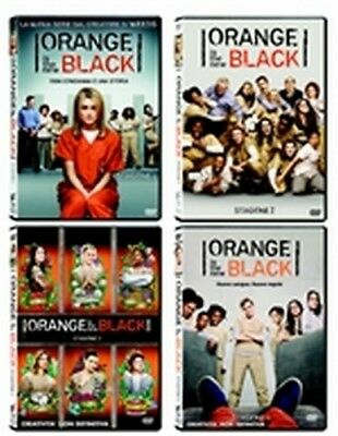 Orange Is the New Black - Stagioni 1-4 (19 DVD) - ITALIANO ORIGINALE SIGILLATO -