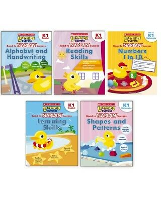 Learning Express NAPLAN:  5 bookset - K1 - ALL 5 books in one pack