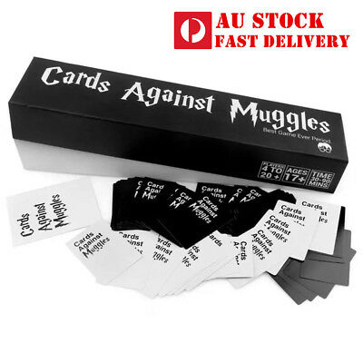 Cards Against Muggles, New Funny Party Board Cards, Au Stock,Express post