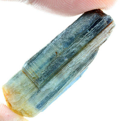 34.65 Ct. Green Blue Kyanite Natural Rough Gemstone Unheated  Free Shipping!