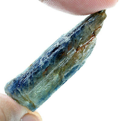 37.60 Ct. Green Blue Kyanite Natural Rough Gemstone Unheated  Free Shipping!